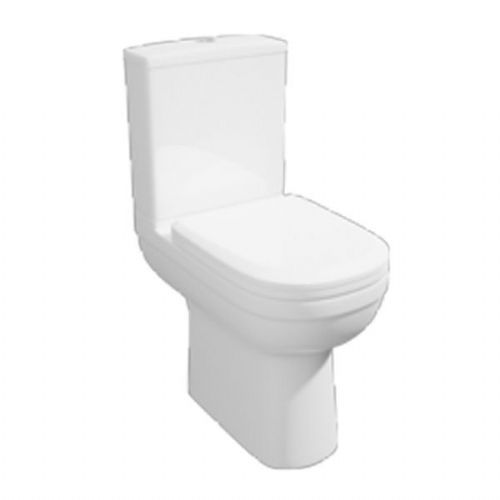 Kartell Lifestyle Comfort Height Close Coupled Toilet - Cistern - Soft Close Seat - White